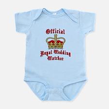 Official Royal Wedding Watcher Infant Bodysuit