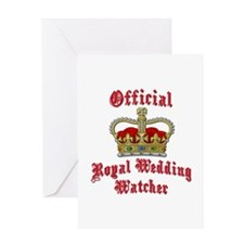 Official Royal Wedding Watcher Greeting Card