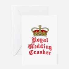Royal Wedding Crasher Greeting Card