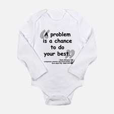 Ellington Best Quote Long Sleeve Infant Bodysuit