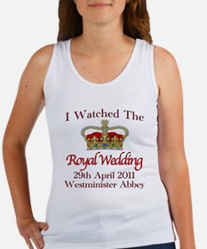 I Watched The Royal Wedding Women's Tank Top