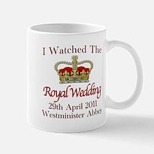 I Watched The Royal Wedding Mug