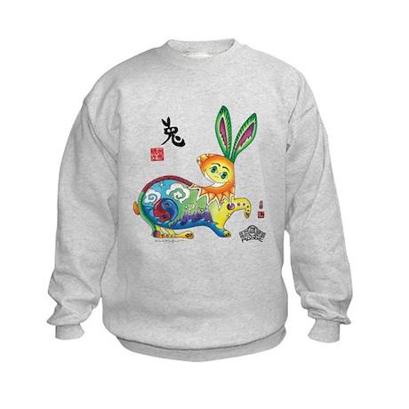 Moongate Year of the Rabbit Kids Sweatshirt