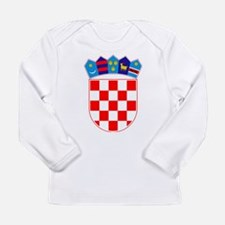 Croatia Coat of Arms Long Sleeve T-Shirt