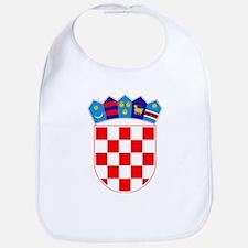 Croatia Coat of Arms Baby Bib