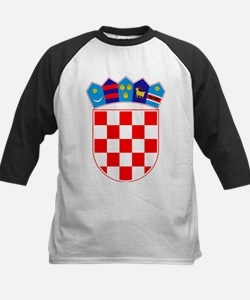 Croatia Coat of Arms Baseball Jersey