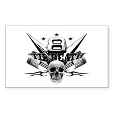 V8 'til death Decal
