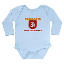 Cute Extreme triathlon Long Sleeve Infant Bodysuit