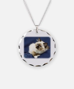 Ragdoll Cat 9W082D-011 Necklace