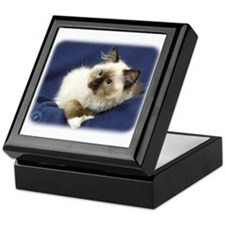 Ragdoll Cat 9W082D-011 Keepsake Box