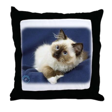 Ragdoll Cat 9W082D-011 Throw Pillow