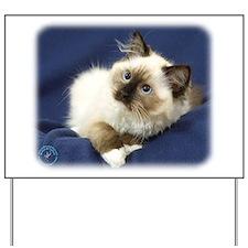 Ragdoll Cat 9W082D-011 Yard Sign