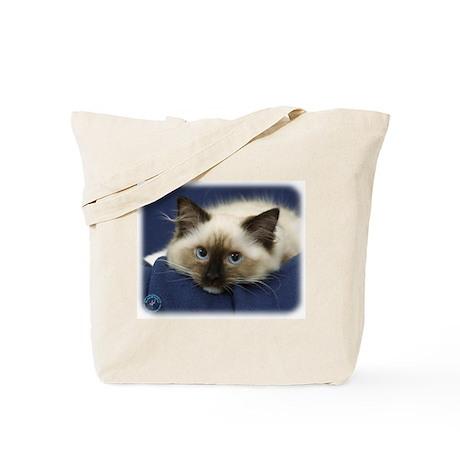 Ragdoll Cat 9W082D-020 Tote Bag