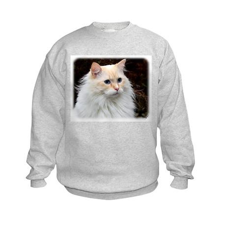 Ragdoll Cat 9W082D-020 Kids Sweatshirt