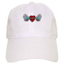 ADD TO FRIENDS, HEART WITH WINGS Baseball Cap