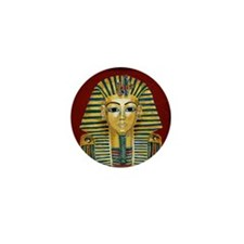 King Tut Mask Mini Button