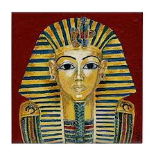 King Tut Mask Art Tile