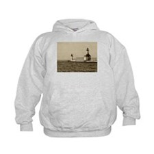 lighthouse sepia Hoodie