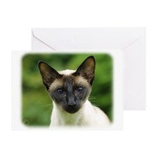 Siamese Cat 9W027D-131 Greeting Card