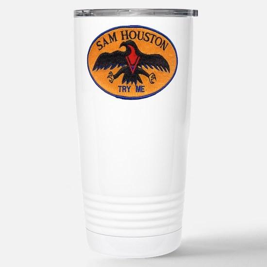 Cute Houston Travel Mug