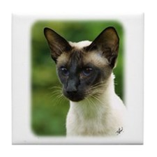 Siamese Cat 9W027D-133 Tile Coaster