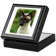 Siamese Cat 9W027D-133 Keepsake Box