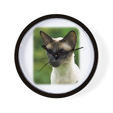 Siamese Cat 9W027D-133 Wall Clock