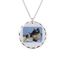 Siamese Cat 9W055D-049 Necklace
