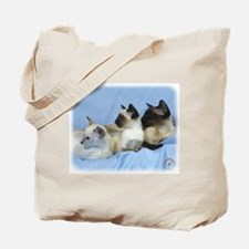 Siamese Cat 9W055D-074 Tote Bag