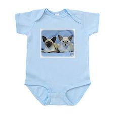 Siamese Cat 9W055D-100 Infant Bodysuit