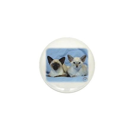 Siamese Cat 9W055D-100 Mini Button