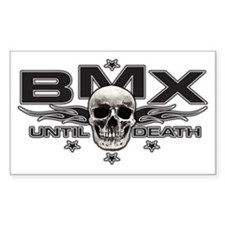 BMX until death Decal