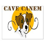 Cave Canem (Jack Russell) Small Poster
