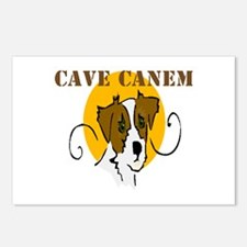 Cave Canem (Jack Russell) Postcards (Package of 8)