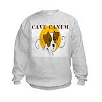 Cave Canem (Jack Russell) Kids Sweatshirt