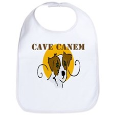 Cave Canem (Jack Russell) Bib