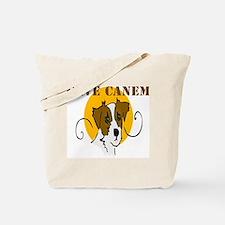 Cave Canem (Jack Russell) Tote Bag