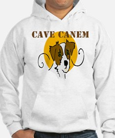 Cave Canem (Jack Russell) Hoodie