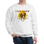 Cave Canem (Jack Russell) Sweatshirt