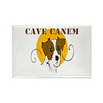 Cave Canem (Jack Russell) Rectangle Magnet 100 pk