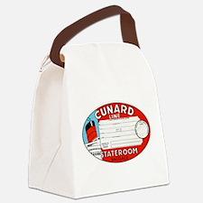 Cunard luggage tag Canvas Lunch Bag
