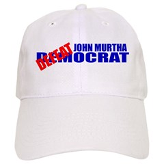 John Murtha Defeatocrat Baseball Cap