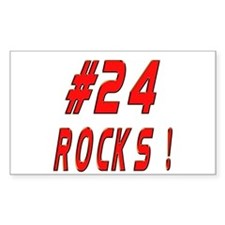 24 Rocks ! Rectangle Decal