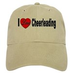 I Love Cheerleading Cap