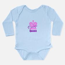 Cookie Queen Long Sleeve Infant Bodysuit