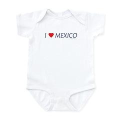 I Love Mexico - Infant Creeper