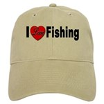 I Love Fishing for Fishing Fa Cap
