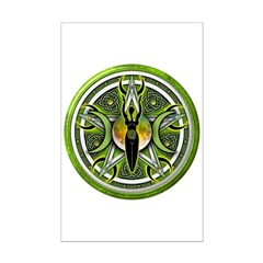 Pentacle of the Green Goddess Posters