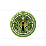 Pentacle of the Green Goddess Postcards (Package o