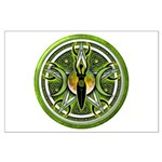 Pentacle of the Green Goddess Large Poster